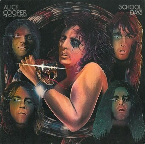 ALICE COOPER School Days Vinyl Record LP Warner Bros. 1973